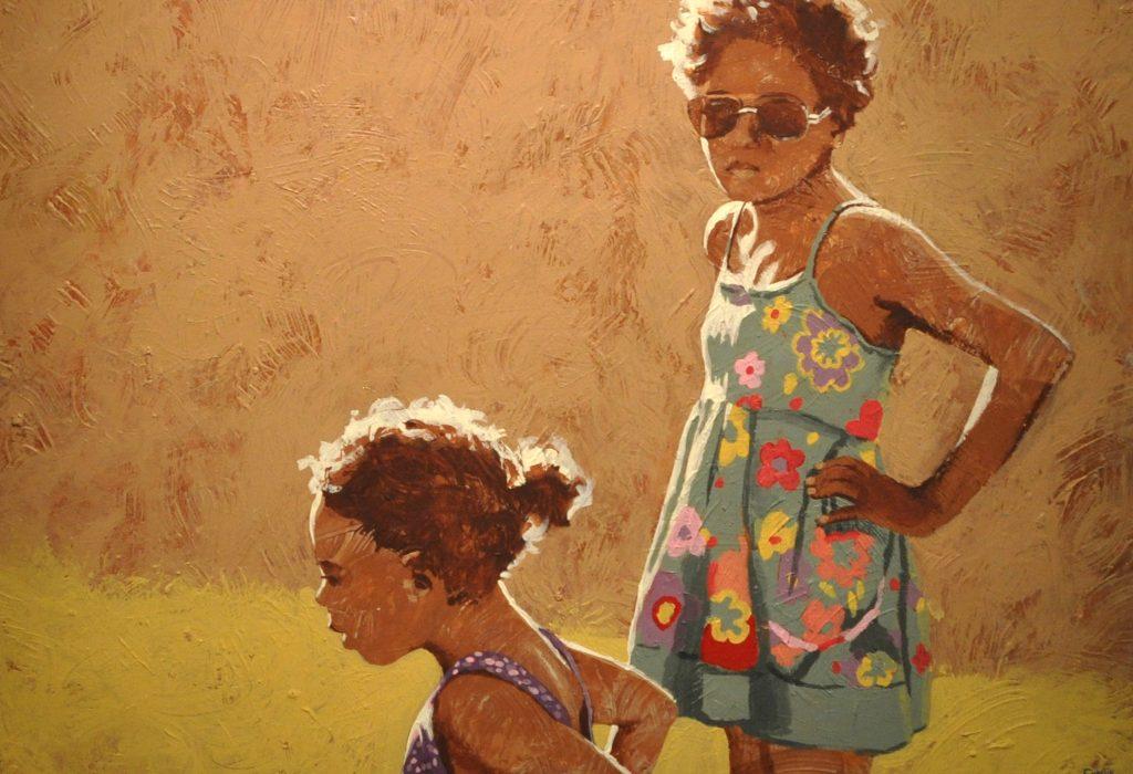 peinture les soeurs